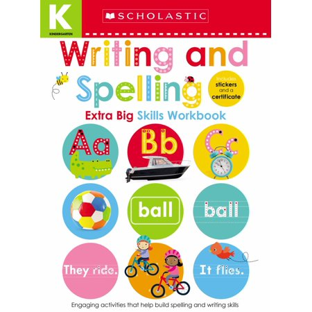 Writing Activities For Kindergarten Halloween (Kindergarten Extra Big Skills Workbook: Writing and Spelling (Scholastic Early)