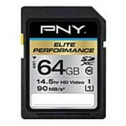 PNY TECHNOLOGIES P-SDX64U395-GE 64GB SDXC CL10 UHS 1