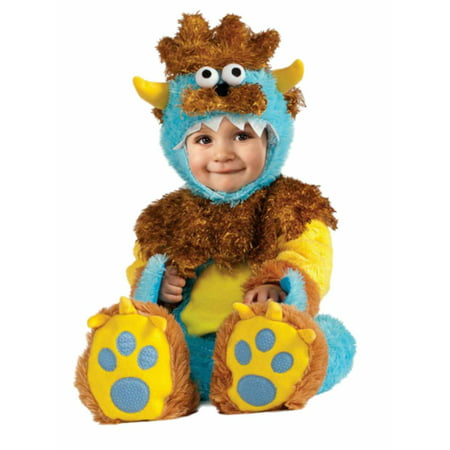 Rubies Infant Boys & Girls Plush Teeny Meanie Monster Costume - Boo Infant Costume