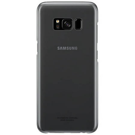 sports shoes 84515 2a7a3 Samsung Galaxy S8 Clear Protective Cover, Black