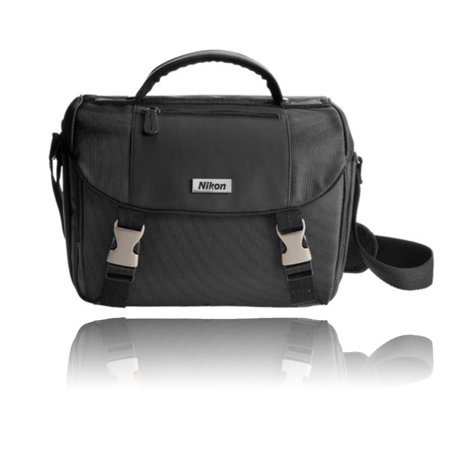 Nikon Slr Gadget Bag (Nikon Deluxe Digital SLR Camera Case - Gadget Bag for DSLR Cameras )