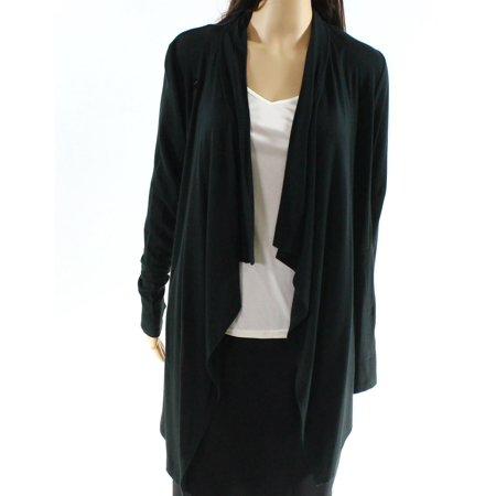b4afa0c68df06 Mpg - Mpg NEW Black Women Size Small S Open Front Drape Sport Cardigan  Sweater - Walmart.com