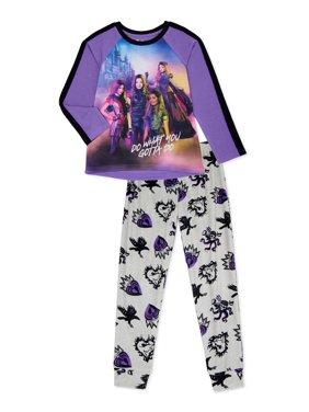 Descendants Girls Exclusive Long Sleeve 2-Piece Set Sizes 4-12