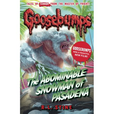 The Abominable Snowman of Pasadena (Goosebumps) (Paperback)