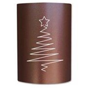 Slip On Sconce CT-CC-025 Copper Canyon Christmas Tree Sconce