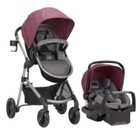 Evenflo Pivot Modular Travel System with Safemax Rear-Facing Infant Car Seat
