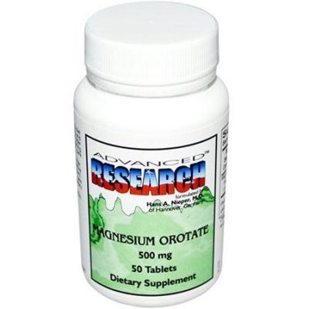 Image of Nutrient Carrie Roasted Advanced Research Magnesium Orotate - 500 mg - 200 Tablets