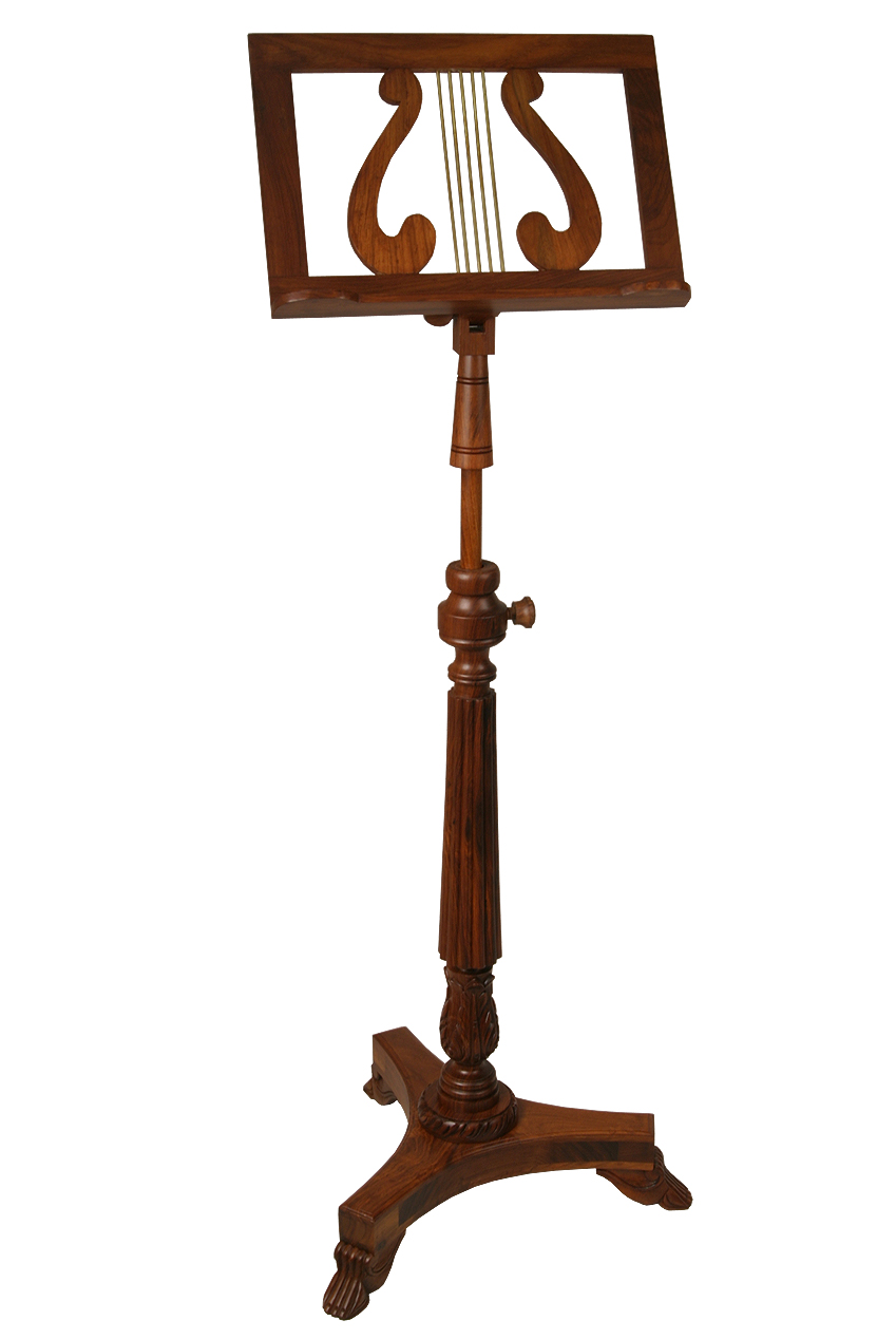 EMS Single Tray Victoria Music Stand by Early Music Shop