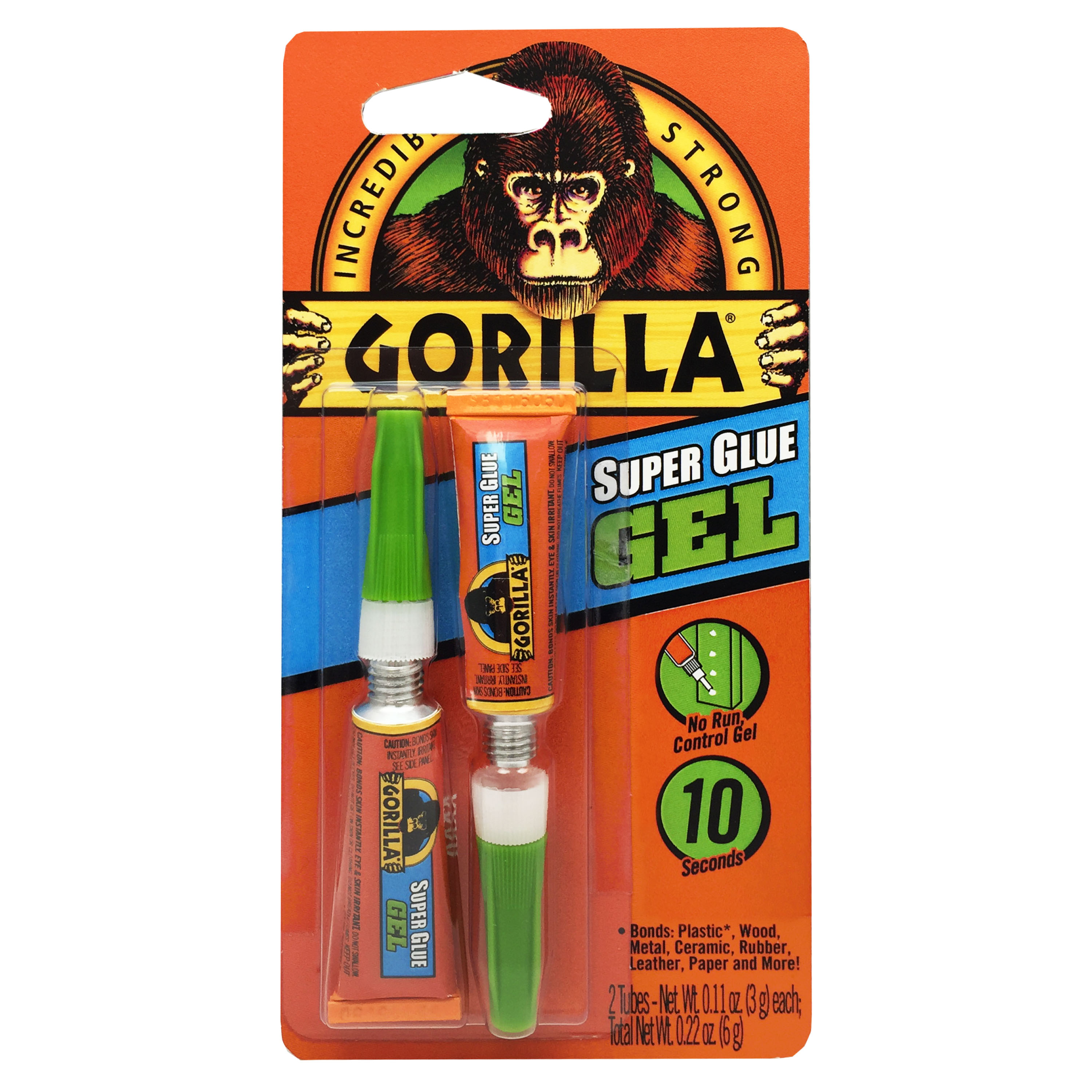Gorilla Super Glue Gel, 3g