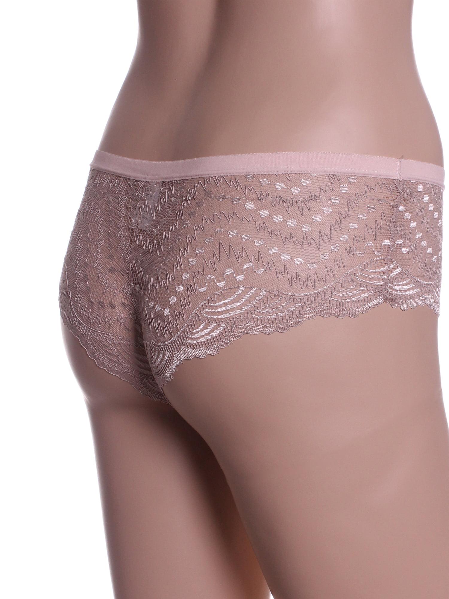 15a806e8b03 Emmalise - Emmalise Women s Sexy Lace Boy Shorts Floral Style Panty  Underwear - - Walmart.com