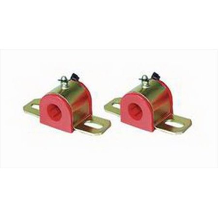 Energy Suspension 9.5156R Stabilizer Bar Mount Bushing  3/4 Inch Bar Diameter; Red; Polyurethane; Grease able - image 1 of 1