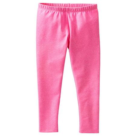 917a2ade8b9e3 OshKosh B'gosh - OshKosh B'gosh Baby Girls' TLC Sparkle Legging, Pink, 6  Months - Walmart.com