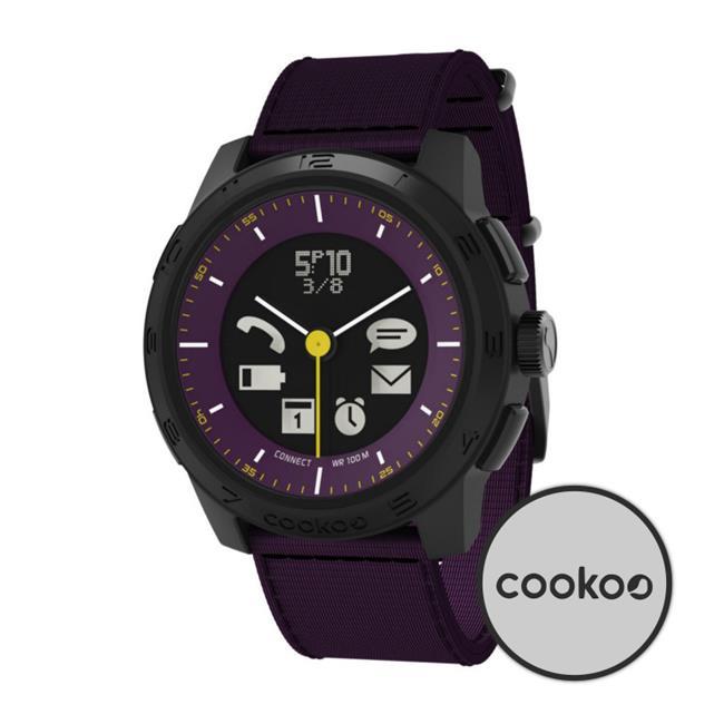 Cookoo CK2.0-005-01 Bluetooth Watch Urban Explorer, Black...