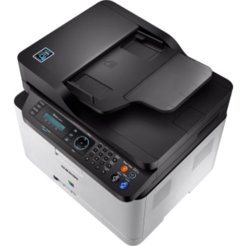Samsung Xpress Sl-c480fw Laser Multifunction Printer Color Plain Paper Print Desktop Copier fax printer scanner 19 Ppm... by Samsung