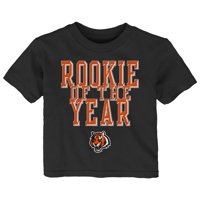 276ef0a3d53e3a Product Image Cincinnati Bengals Toddler Rookie Of The Year T-Shirt - Black