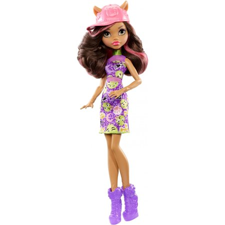 Monster High Emoji Clawdeen Wolf Doll