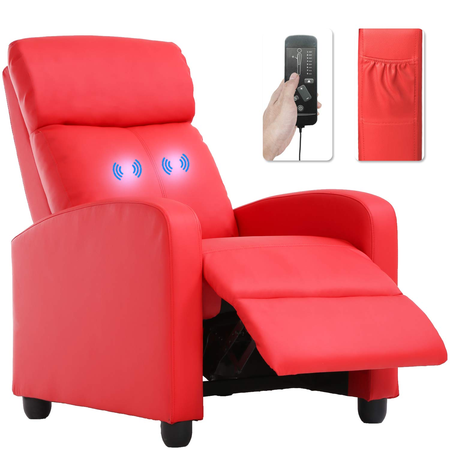 Recliner Chair For Living Room Home Theater Seating