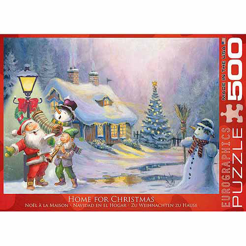 EuroGraphics Home for Christmas 500-Piece Puzzle