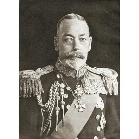 King George V George Frederick Ernest Albert 1865 Canvas Art - Ken Welsh Design Pics (24 x 34)