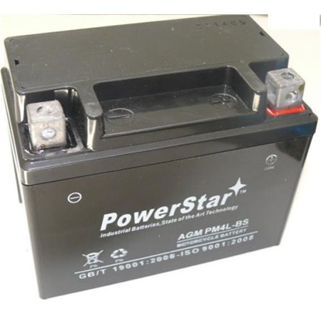 PowerStar PM4L-BS-101 Lawn Mower Battery for