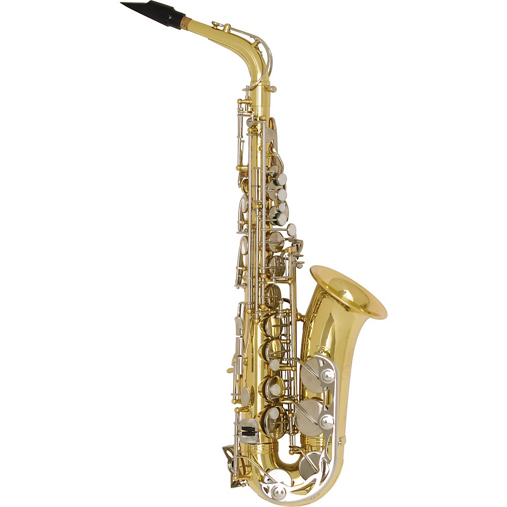 Bundy BAS-300 Student Alto Saxophone Lacquer by