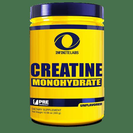 Infinite Labs monohydrate de créatine supplément diététique, 300 grammes