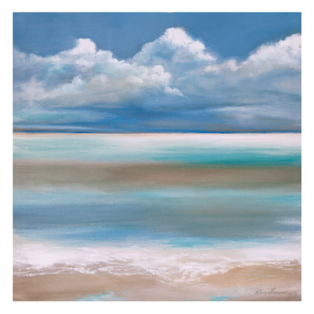 Patton Wall Decor Tranquility By The Sea Coastal Canvas Art