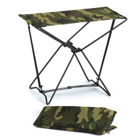 Woodland Camo Folding Stool For Camp Or Shop Walmart Com