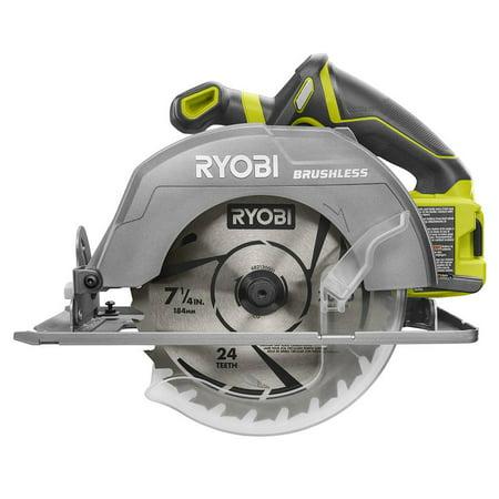 Ryobi 18-Volt One+ 7-1/4 in. Circular Saw (Bare Tool)