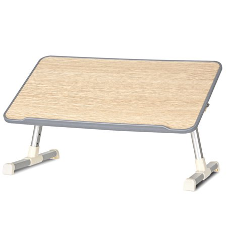 Portable Lap Desk Folding Lazy Laptop Computer Table Adjustable Bed Tray Stand - image 8 of 10