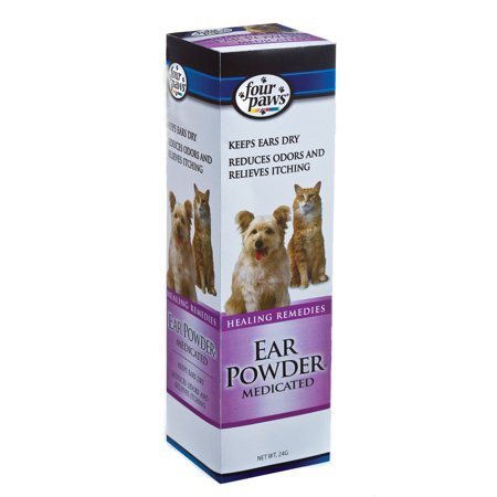 Four Paws Dog Ear Powder 24 Grams Four Paws Ear Powder