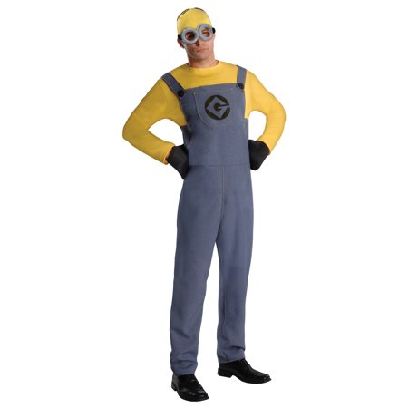 Despicable Me 2 Minion Dave Adult Halloween Costume - Minions Despicable Me Halloween Costumes