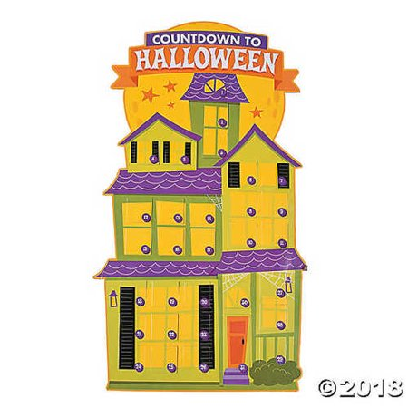 Jumbo Halloween Countdown Calendars](Halloween Count Down)