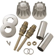 Tub And Shower Rebuild Kit For Price Pfister Windsor Faucets, Acrylic by BrassCraft