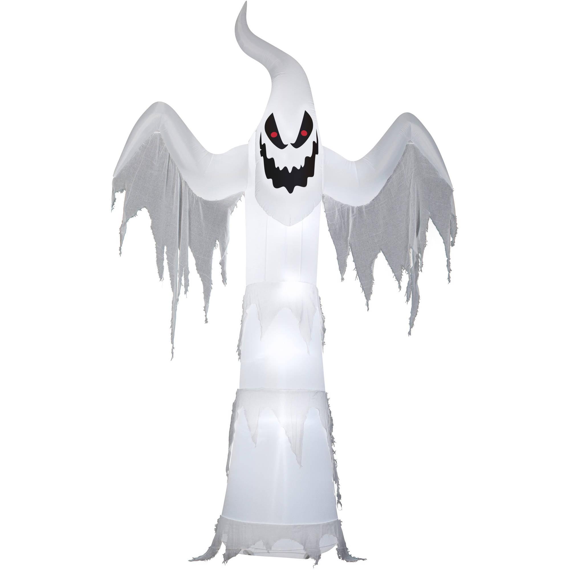gemmy airblown inflatable 12 x 75 giant ghost halloween decoration walmartcom