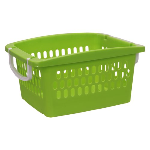 Mainstays Youth Stacking Basket, Green