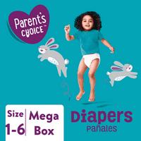 Parent's Choice Mega Box Diapers (Choose Size)