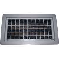 Vented Vent - WITTEN AUTOMATIC VENT 315CGR GRAY FINISH REPLACEMENT AUTO VENT 8X16 - GRAY
