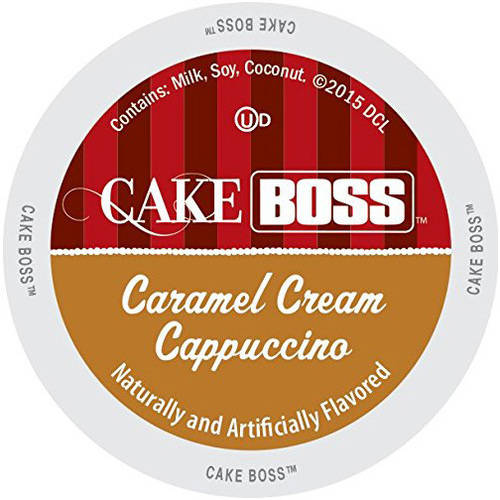Cake Boss Caramel Cream Cappuccino K-Cups, 24 count