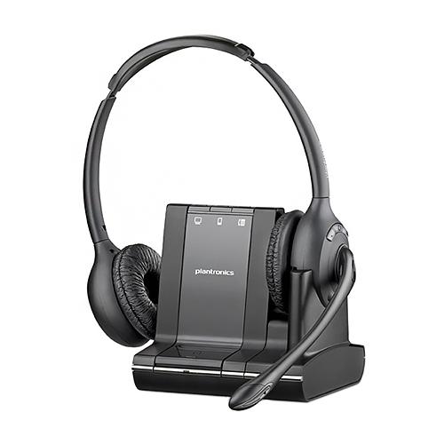 Plantronics 83544-01 Savi W720 Duo Wireless Headset w  Adjustable Volume by PLANTRONICS