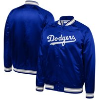 a3e1b7d4c12287 Product Image Los Angeles Dodgers Mitchell & Ness Big & Tall Satin Full-Snap  Jacket - Royal