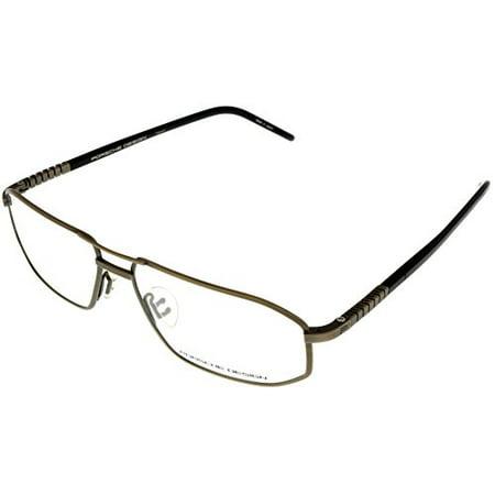 b7180db5ad ... Size Lens Bridge. Porsche Design Prescription Eyeglasses Frame Anium Men  P8122 A 59