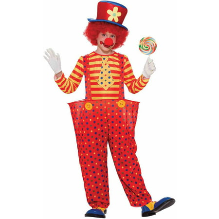 Hoopy the Clown Child Halloween Costume](Clown Halloween Entrance)