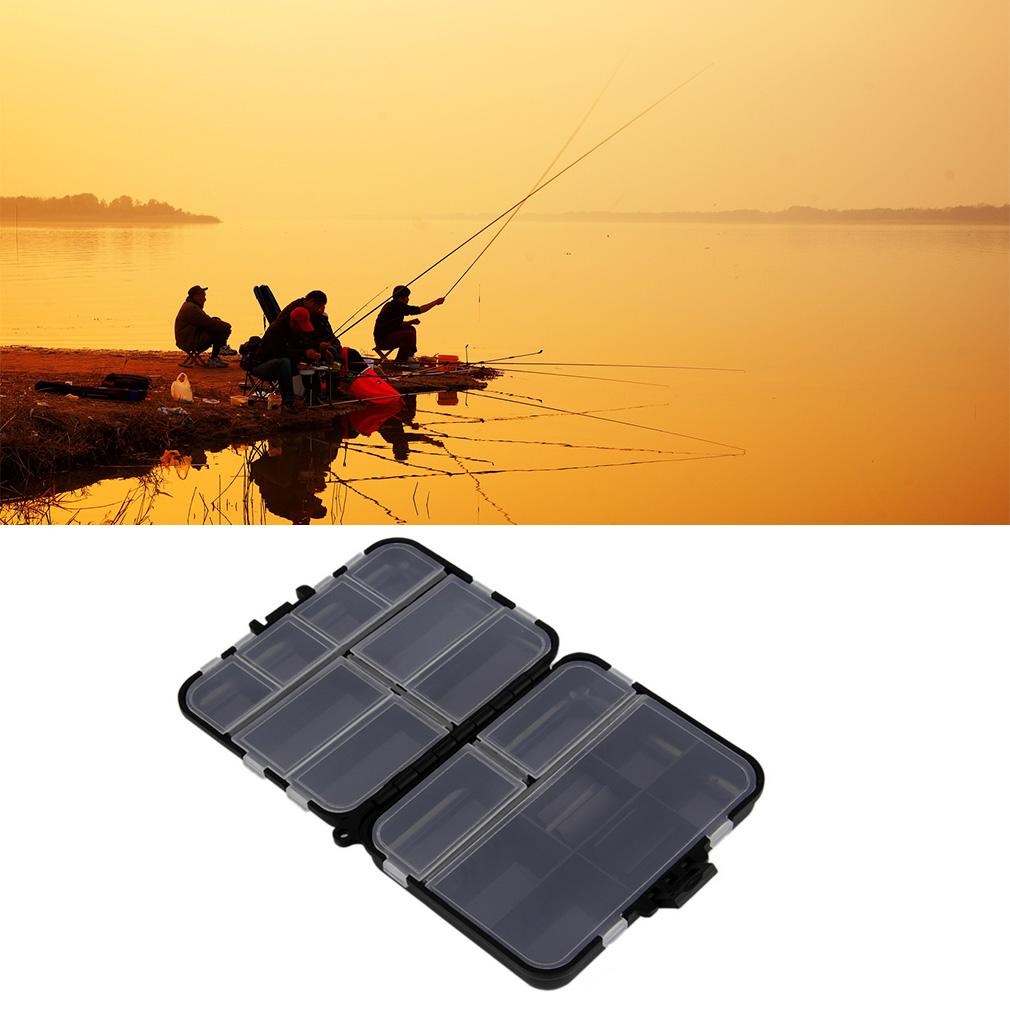 Waterproof Fishing Lure Tackle Hook Bait Storage Box Case 16 Compartments by konxa