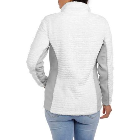 Faded Glory Women's Plush Sport Fleece Jacket