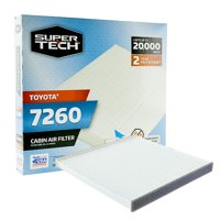 SuperTech Cabin Air Filter 7260, Replacement Air/Dust Filter for Toyota