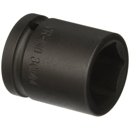 430m 3/4-Inch Drive 30-Mm Impact Socket, Forged from the finest chrome molybdenum alloy steel - the best choice for strength and durability By Sunex Ship from