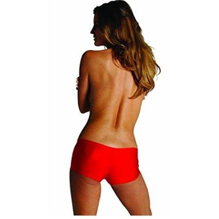 Fun Buns Pants Lycra Large, Red (Fun Bun Pants)