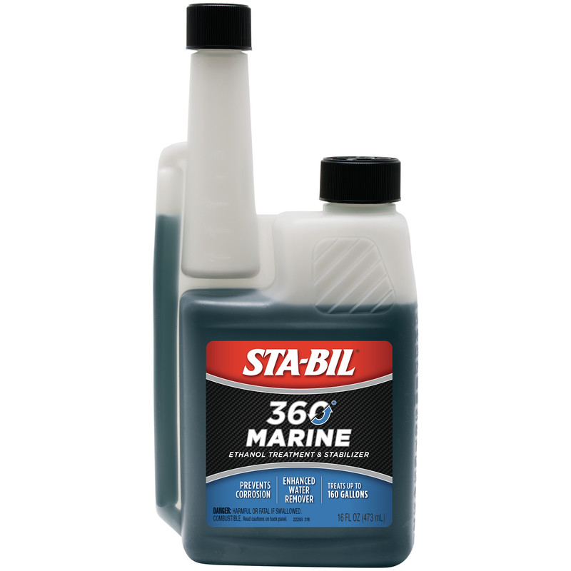 STA-BIL (22293) 360 Marine Ethanol Treatment & Stabilizer, 16 oz.