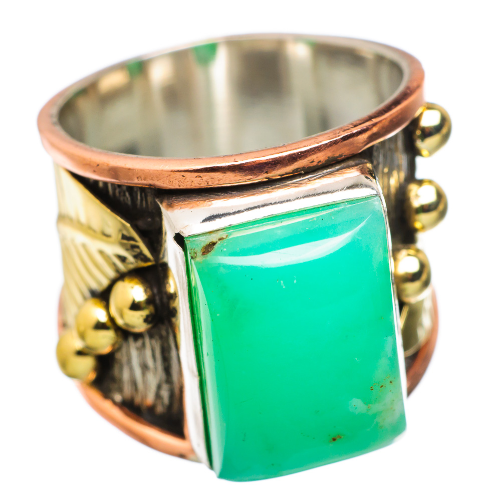 Ana Silver Co Chrysoprase 925 Sterling Silver Ring Size 7 RING834170 by Ana Silver Co.